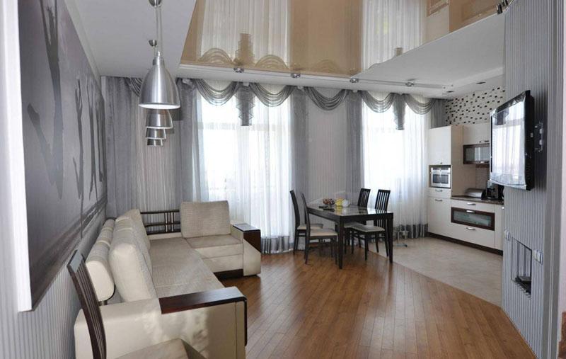 Дизайн квартиры-студии картинки