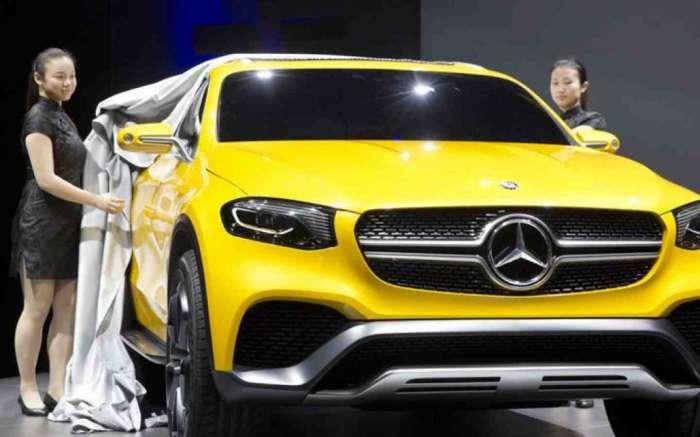 ����� �������� ���������� ���� �� ��������� GLC �� Mercedes