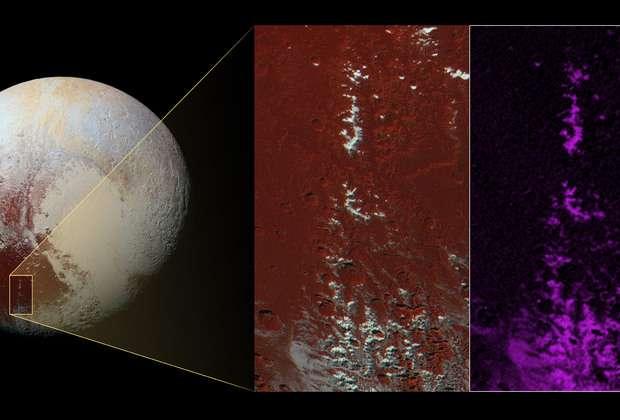 Метановый снег выпал на Плутоне