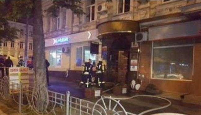 В Киеве возле ресторана бросили взрывпакет