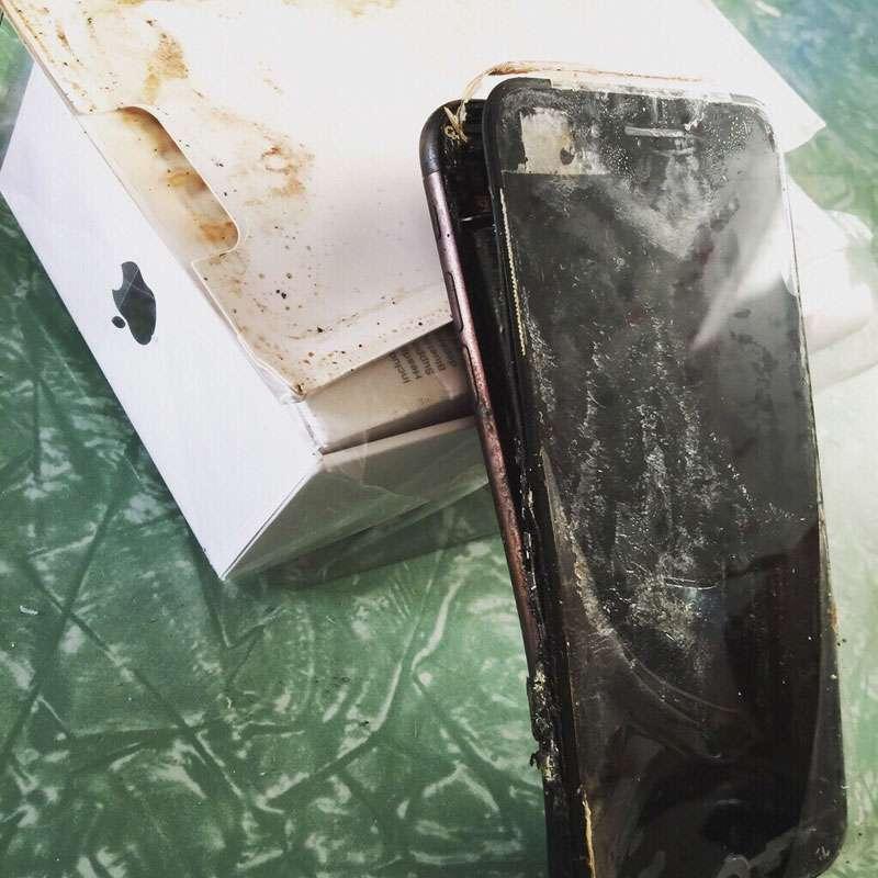ВКитайской народной республике вруках владельца взорвался iPhone 7 при попытке использовать камеру