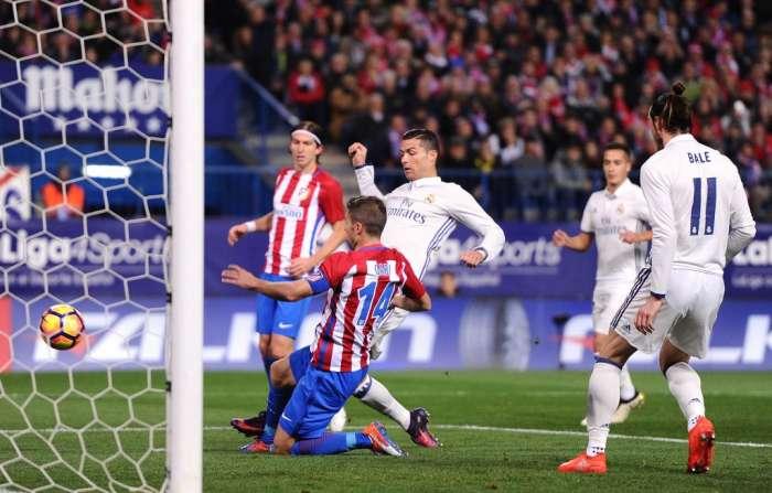 «Реал» разгромил «Атлетика» благодаря хет-трику Рональду