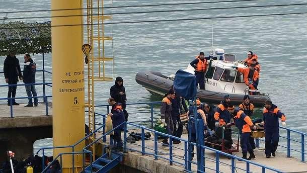 Найден черный ящик потерпевшего крушение ТУ-154