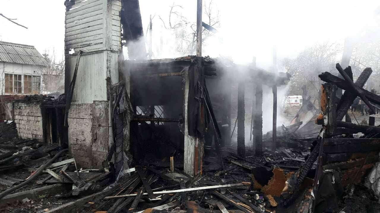 ВКиеве впожаре живьем сгорели 4 ребенка