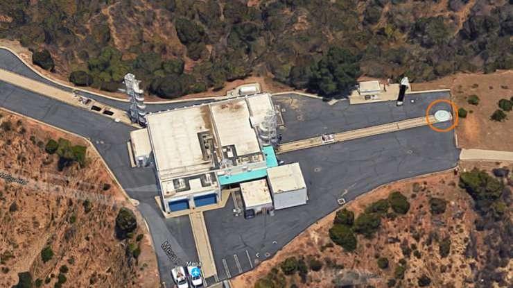 Появилось видео, как накрыше здания NASA «припарковался» НЛО