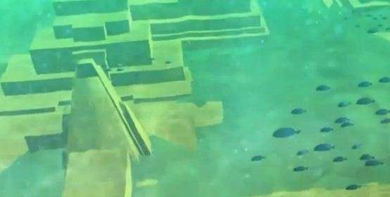 Врайоне Бермудского треугольника надне океана найден старинный город