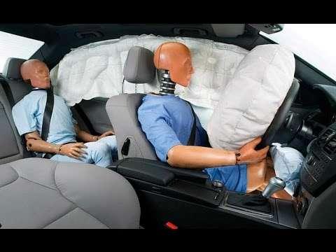 Подушки безопасности опасны для слуха