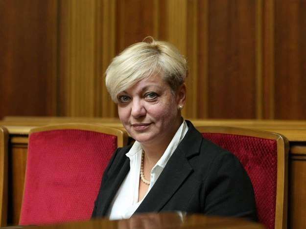 Валерия Гонтарева подала президенту Украины Петру Порошенко заявление об отставке
