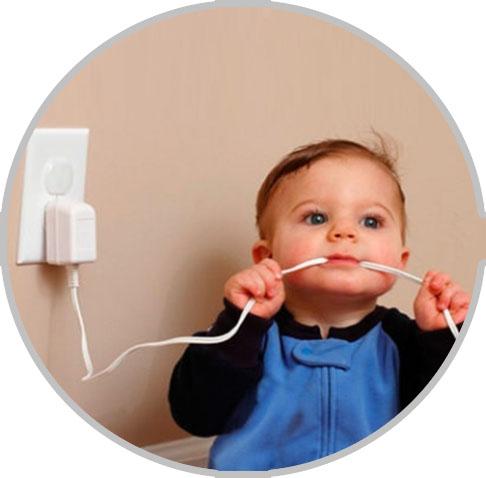 Дети и электрические приборы: как подружить их безопасно