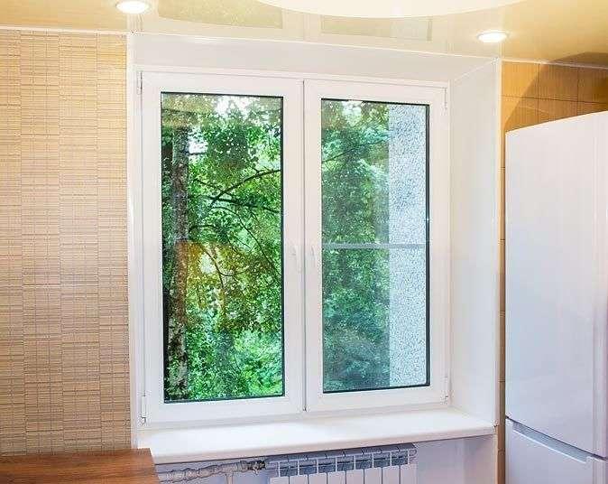 Купить окно с балконной дверью